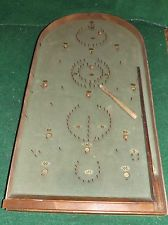 VINTAGE,OLD,PUSH,STICK,BAGATELLE,PINBALL,GAME,TOY,PUB,GAMES,PROP £80 Old Board Games, Village Fete, Game Props, Game Google, Old Toys, Pinball, Fundraising, Childhood, Woodworking