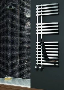 The Reina Felino chrome heated towel rail is finished in chrome . It has square . The Reina Felino chrome heated towel rail is finished in chrome . It has square … The Reina Feli Tall Radiators, Flat Panel Radiators, Bathroom Radiators, Column Radiators, Electric Towel Rail, Chrome Towel Rail, Mirror Radiator, Towel Radiator, Stainless Steel Radiators