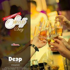 #DeepGold #StaffDay #ColorfulNights