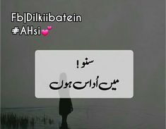 Pata nahi q? 1 Line Quotes, Urdu Quotes, Deep Thoughts, Distance, It Hurts, Poetry, Sad, Letters, Feelings