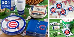 Chicago Cubs Party Supplies - Party City . . There are many other teams to choose from when you go the the Party City website.