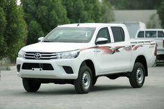 Mezcal Armored Vehicles - UAE: Armored Toyota Hilux