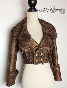 Boléros & Vestes - site My Oppa Steampunk, Blouse, Lace, Long Sleeve, Sleeves, Women, Fashion, Boleros, Jacket