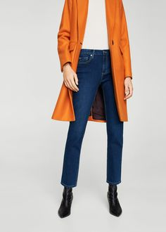 Discover the latest trends in Mango fashion, footwear and accessories. Mango Outlet, Skinny Fit, Skinny Jeans, Beste Jeans, Anna, New Fashion Trends, Ankle Jeans, Duster Coat, Trousers