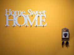 Wieszak na ubrania Home Sweet Home XXL Biały