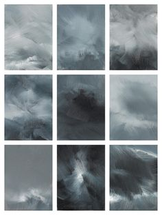 credo II   Conrad Jon Godly Conrad Jon Godly, Painting & Drawing, Clouds, Sky, Watercolor, Black And White, Abstract, Drawings, Artist