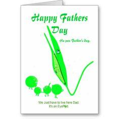 Father's Day Card Pea joke