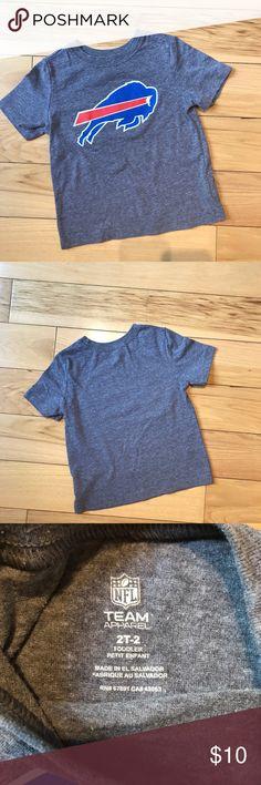 Buffalo Bills 2T Short Sleeve Shirt Excellent used condition Buffalo Bills short sleeve shirt. Size 2T NFL Team Apparel Shirts & Tops Tees - Short Sleeve