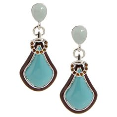 Turquoise Cocktail Earrings