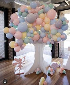 Deco Baby Shower, Baby Shower Balloons, Shower Party, Baby Shower Themes, Shower Ideas, Balloon Decorations Party, Birthday Party Decorations, Baby Shower Decorations, Party Themes