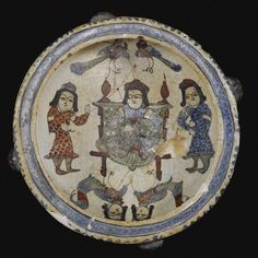 C12th #SuperBowl from Iran/Persia that appeals to my Noggin the Nog and Mr Benn sensibilities. #art By: Matthew Ward @HistoryNeedsYou on Twitter. IranologySociety.