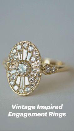 Vintage Inspired Engagement Rings, Halo Engagement Rings, Diamond Rings, Vintage Jewelry, Jewelry Necklaces, Chokers, Bling, Pendants, Wedding Rings