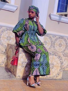 Long African Dresses, Latest African Fashion Dresses, African Braids Hairstyles, Braided Hairstyles, Ankara Skirt And Blouse, Church Wedding, Women's Fashion, Clothing, How To Wear