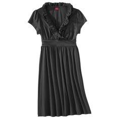 $24.99 Merona® Women's Cap Sleeve Ruffle Dress - Assorted Colors
