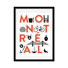 The English Muffin Blog: MONTRÉAL CITY PRINT