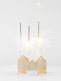 DIY sparkler houses - Monsterscircus