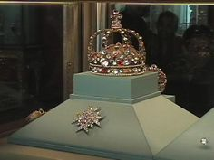 French Crown in the Apollo Gallery in the Louvre