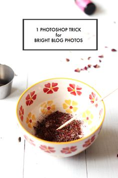 1 PHOTOSHOP TRICK FOR BRIGHT BLOG PHOTOS - PinkPot