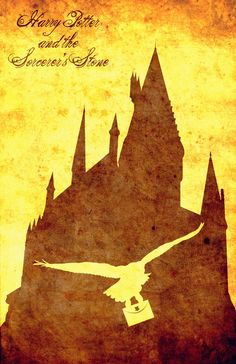 Harry Potter and the Sorcerer's Stone print by Paul Slayton, via Behance