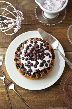 The Ultimate Blueberry Cake