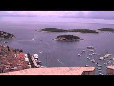Miasto Hvar i Forteca Spagnola