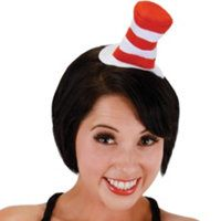 Seuss Cat in the Hat Mini Hat Headband by elope Seussical Costumes, Halloween Costumes, Cat In The Hat Party, Dr Seuss Baby Shower, Silly Hats, For Elise, Sun Hats For Women, Women Hats, Cat Hat