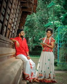 Image may contain: one or more people, people standing and outdoor Indian Wedding Couple Photography, Wedding Couple Poses Photography, Couple Photoshoot Poses, Saree Photoshoot, Girl Photography Poses, Couple Posing, Wedding Photoshoot, Bridal Hairstyle Indian Wedding, Wedding Dresses For Girls