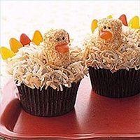 Kalkoen Cupcakes :3