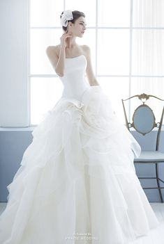 This wedding dress from Jessica Lauren is the definition of purity and romance!