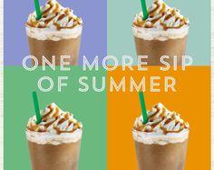 Starbucks Summer e-mail insert.