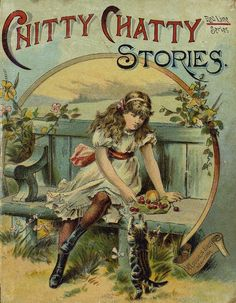 Chitty Chatty Stories published by McLoughlin Bros. New York prior to 1891