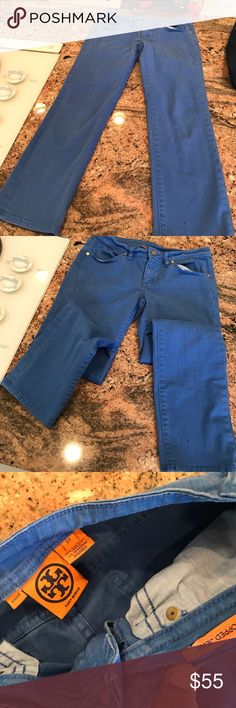 Tory Burch jeans Size 27 blue Tory Burch Jeans Ankle & Cropped