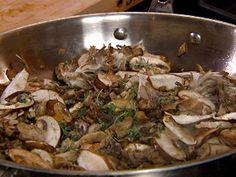Sauteed Wild Mushrooms recipe from Robin Miller via Food Network
