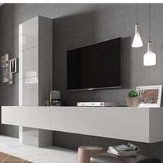 Galerie Galerie The post Galerie appeared first on Wohnzimmer ideen. Living Room Wall Units, Living Room Tv Unit Designs, Home Living Room, Living Room Decor, Tv Unit Decor, Tv Wall Decor, Home Room Design, House Design, Modern Tv Wall Units