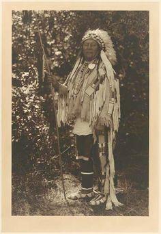 Aleek-chea-ahoosh (aka Many Achievements, aka Plenty Coups) - Crow - 1913