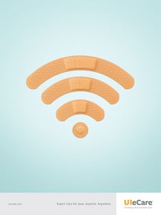 UIeCare Poster — WiFi Band-Aid - Graphis