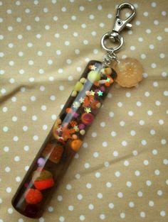 Halloween keychain stick