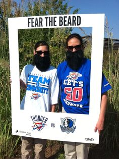 Sedgwick County Zoo Staff Fear The Beard! Tickets are on sale sale now for the Oklahoma City Thunder NBA preseason game 10/24.