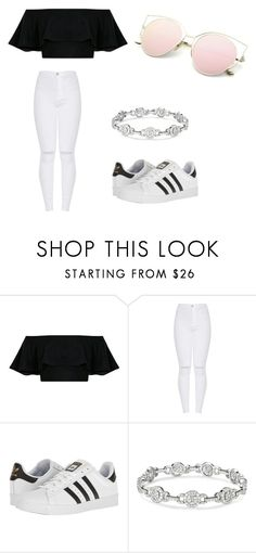 """Untitled #4"" by kpridham on Polyvore featuring adidas"