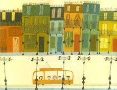 streetcar w rowhouses