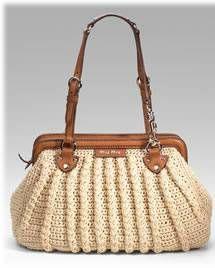 Miu Miu crochet bag