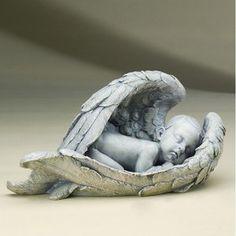Roman, Inc. 15'' Sleeping Baby in Wings Soooo cute