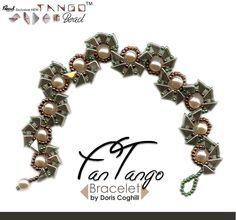 """""""Fan Tango"""" bracelet, by Doris Coghill"""