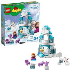 LEGO Duplo WHITE GLITTER TRANSLUCENT WAND for Castle Princess House Specialty