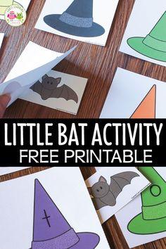 Preschool Bats Activities