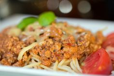"""Danie dnia: Spaghetti po bolońsku. Restauracja Biesiada z """"Hudym Smalcem"""" #food #jedzenie #restauracja #Kraków"""