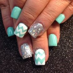 Pastel blue nails😍 Springs coming🎀 Super Cute Nails, Pretty Nails, How To Do Nails, Fun Nails, Spring Nails, Summer Nails, Nail Envy, Manicure And Pedicure, Pedicures