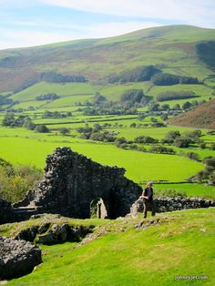 Castell y Bere, Wales…
