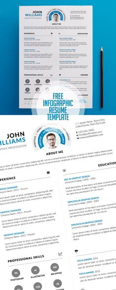 Free Cover letter and Resume   CV Template Free PSD Files - free resume and cover letter