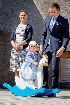 Princess Estelle of Sweden carried out her first official engagement on Saturday - Photo 10 | Celebrity news in hellomagazine.com